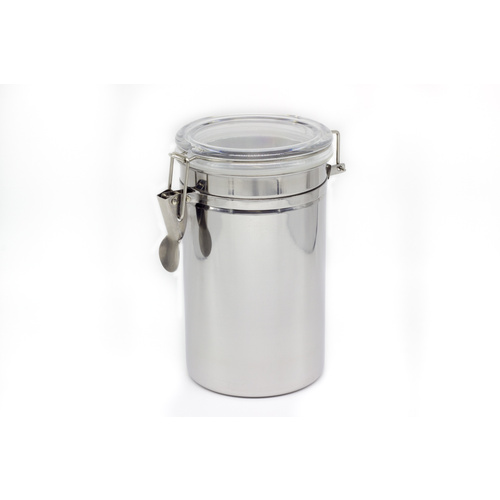 Silver Cylinder Tin - SMALL